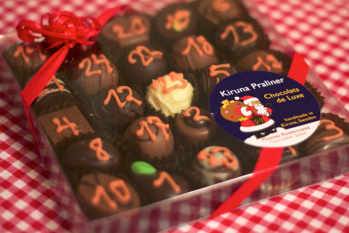 Chokladkalender för vuxna